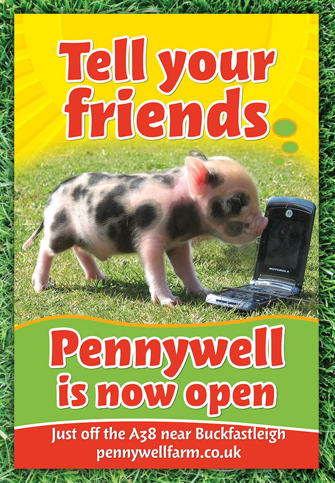 Bus Stop poster design for Pennywell
