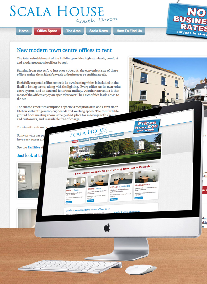 Scala House Offices Website
