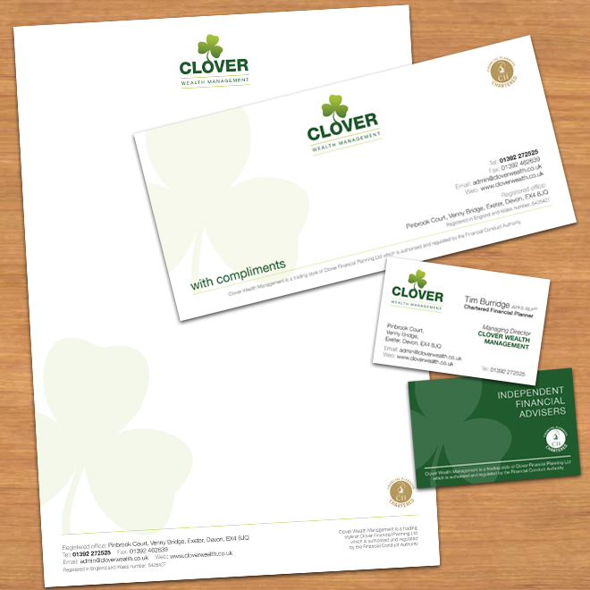 Clover Wealth Corporate Identity Evolution