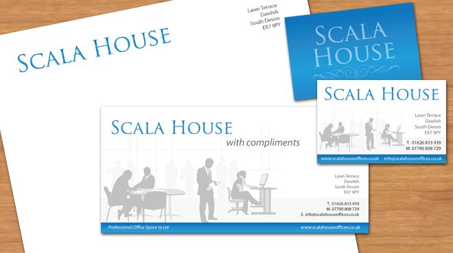 Scala House Logo and Corporate Id design