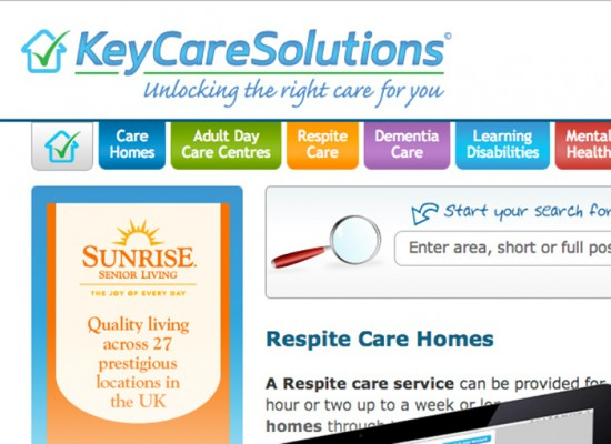 Keycare Solutions Website Design