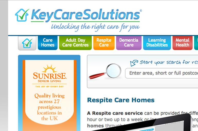 Keycare Solutions Website Design