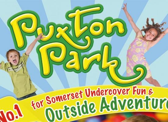 Puxton Park Tourist Leaflet Design