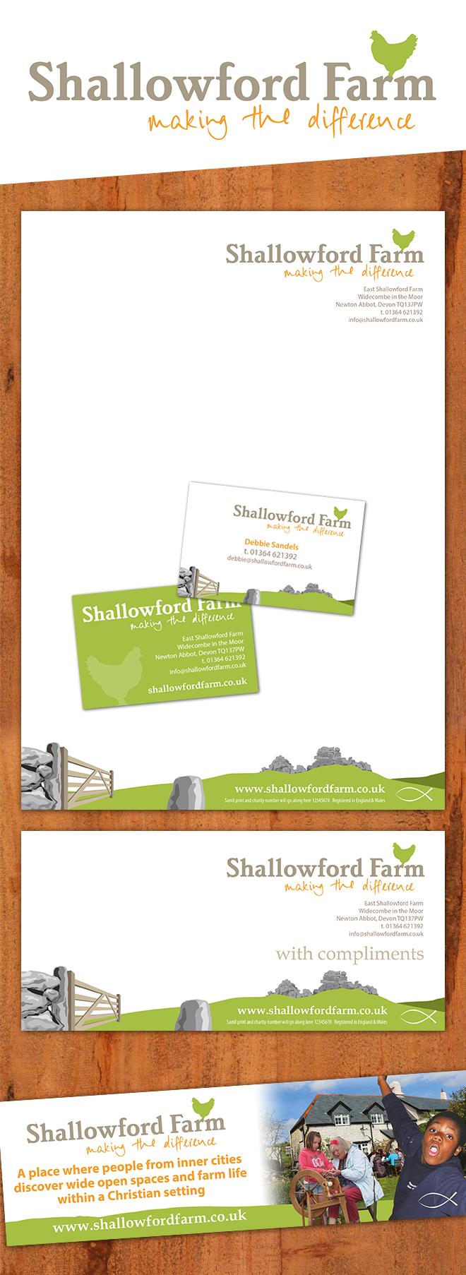 Shallowford Farm Branding Design