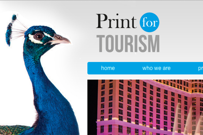 Print for Tourism website design