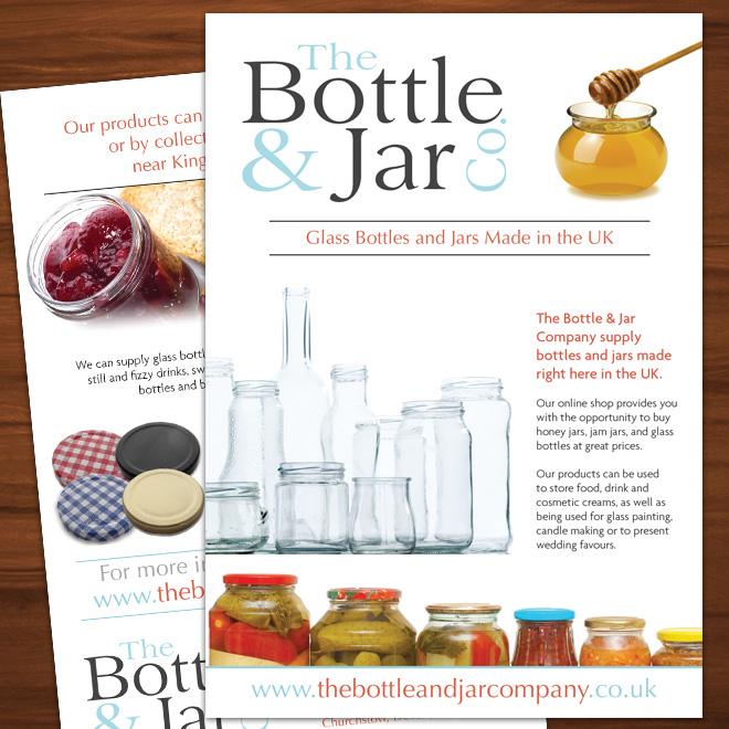 Flyer Design for Bottle & Jar company