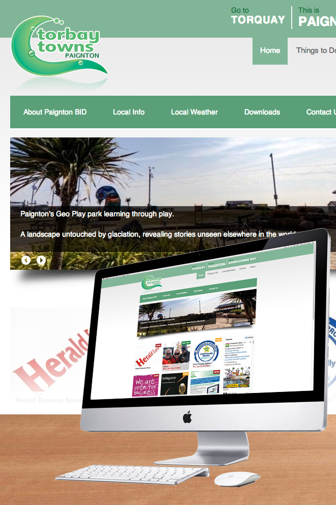 Torbay Towns Website for Paignton