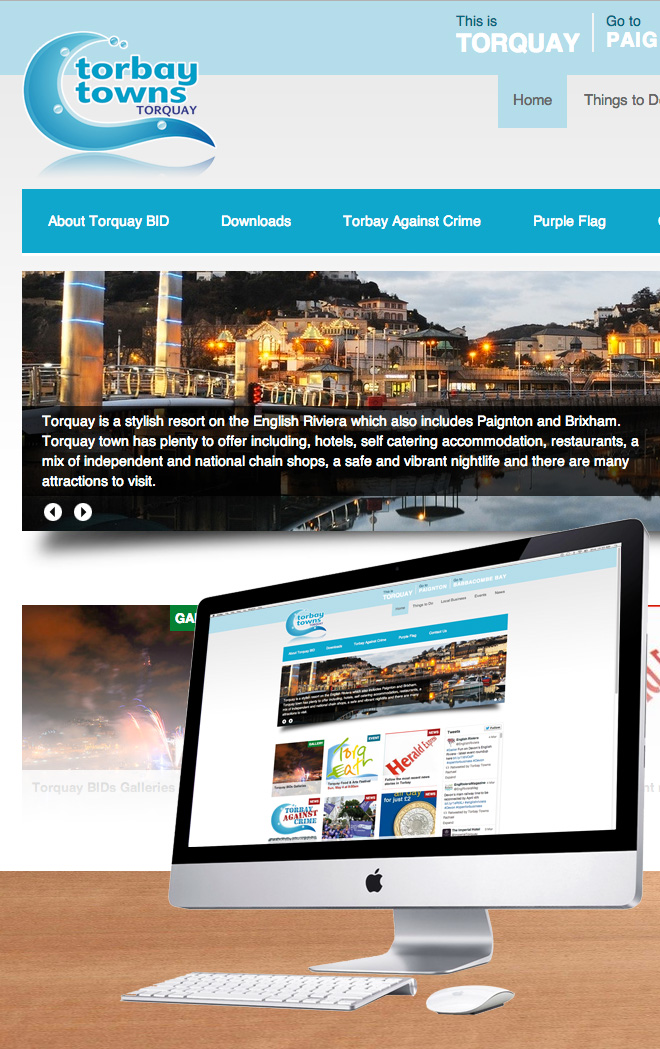 Torbay Towns Website for Torquay