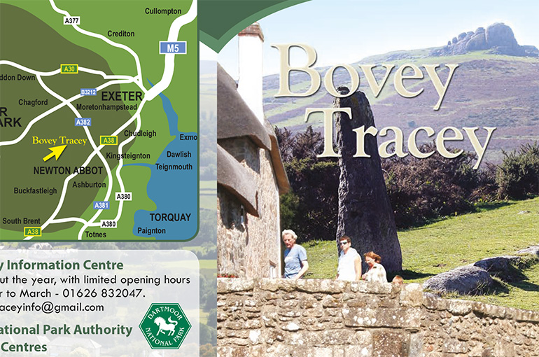 Bovey Tracey Tourist Leaflet Design