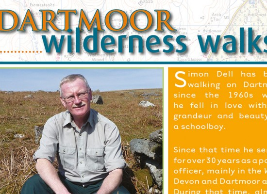 Dartmoor Walks Guide Book Design