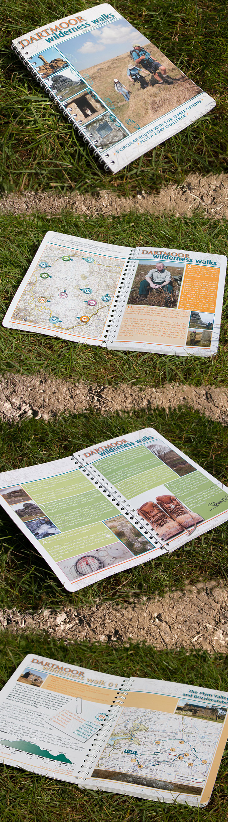 Dartmoor Guide Book Design