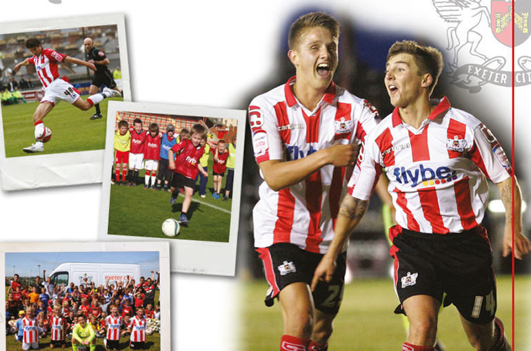 Feniton Programme Design for Exeter City FC