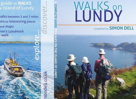 Lundy Island Guide Book Design