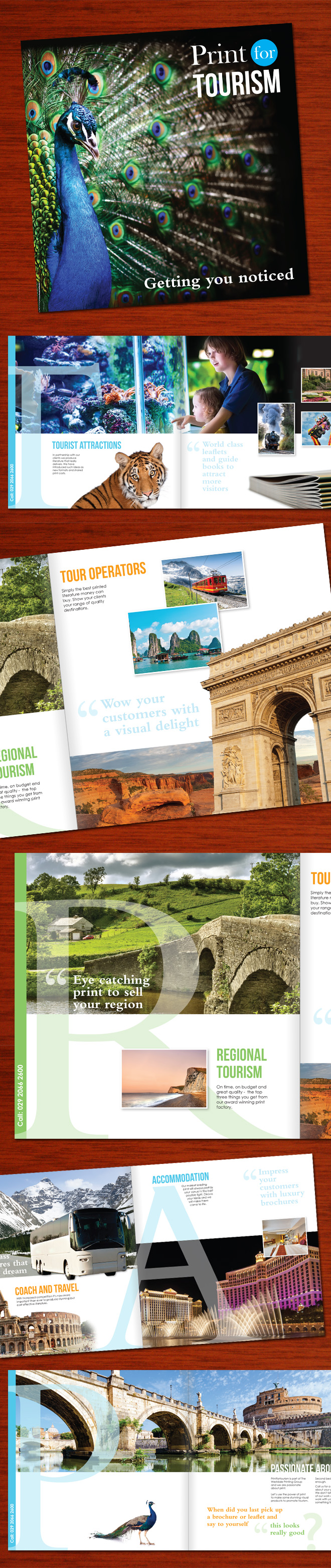 Print For Tourism Brochure